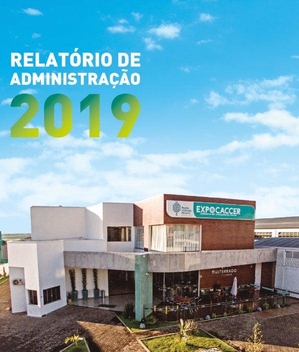 Relatório da Administração 2019 Expocaccer