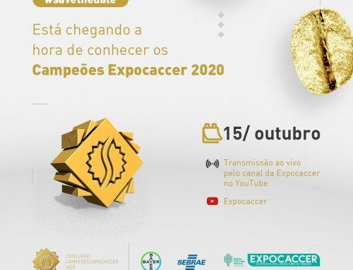 """CONCURSO DE QUALIDADE DE CAFÉS """"CAMPEÕES EXPOCACCER"""" 2020"""