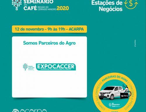 EXPOCACCER E DULCERRADO GARANTEM PRESENÇA NO 28° SEMINÁRIO DO CAFÉ