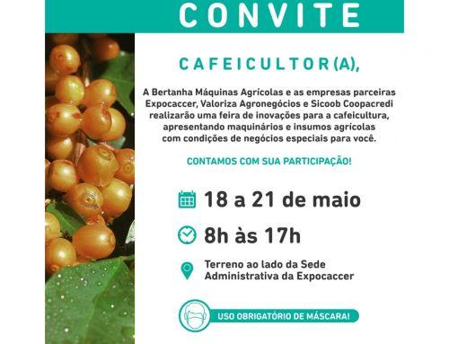EXPOCACCER SEDIA FEIRA DE INOVAÇÕES TECNOLÓGICAS PARA A CAFEICULTURA