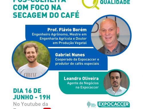 JORNADA DA QUALIDADE ONLINE DA EXPOCACCER APRESENTA TENDÊNCIAS E EXPERIÊNCIAS NA SECAGEM DO CAFÉ