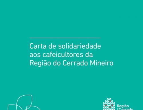 Carta de Solidariedade aos Cafeicultores da Região do Cerrado Mineiro