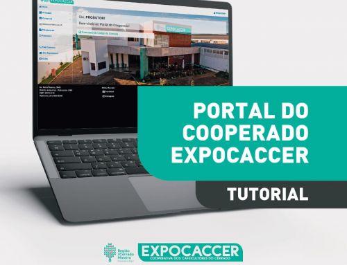 EXPOCACCER LANÇA TUTORIAL PARA ACESSO AO PORTAL DO COOPERADO